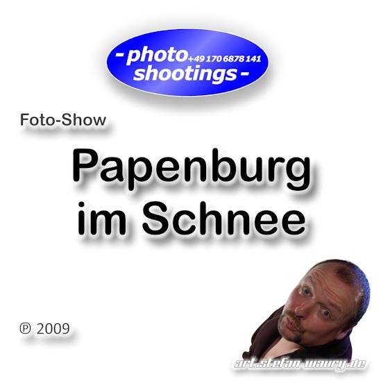 Foto-Show: Papenburg im Schnee