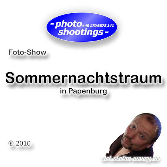 Foto-Show: Sommernachtstraum in Papenburg, Fotokunst-ART