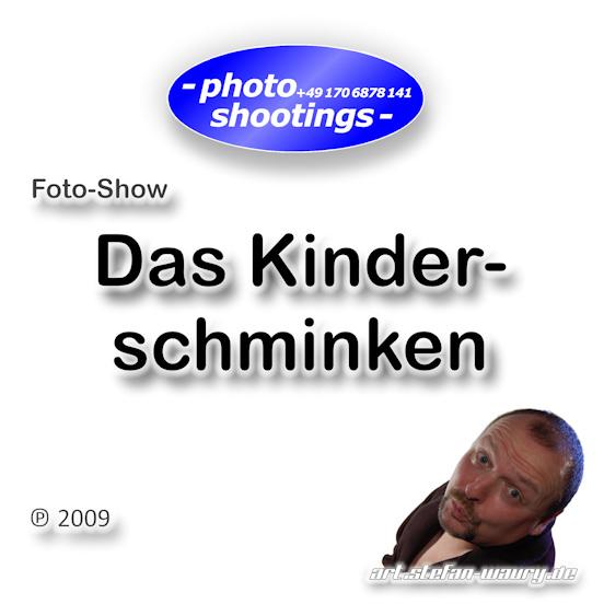 Foto-Show: Kinderschminken