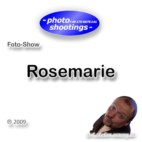 Foto-Show: Rosemarie