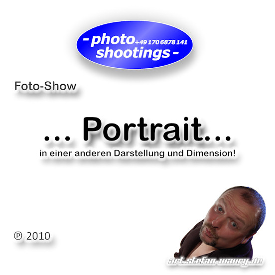 Foto-Show - Selbst-Portraits