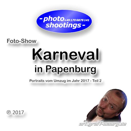 Foto-Show - Karnevalsumzug in Papenburg 2017, Teil 2 mit 52 Fotos